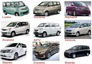Mengenal Mobil Jenis MPV, SUV, APV serta Spesifikasinya