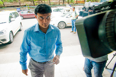 Sourav Ganguly Got Stuck In A Lift At Eden Gardens