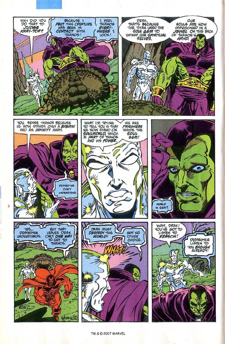 Read online Silver Surfer (1987) comic -  Issue #46 - 8