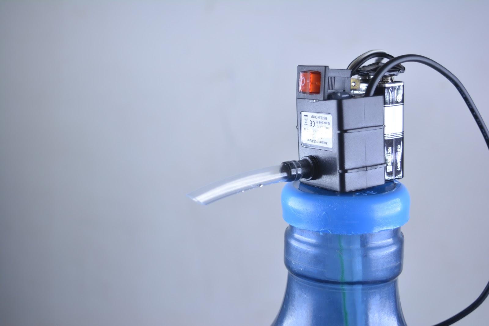 Cara Membuat Cara Membuat Pompa Air Minum Galon