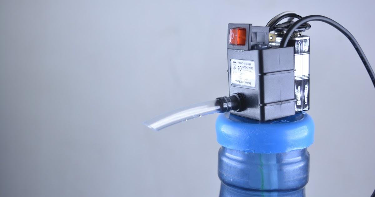Cara Membuat : Cara Membuat Pompa Air Minum Galon