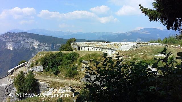 Forte Corbin sull'Altopiano di Asiago