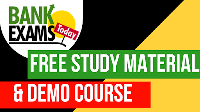 BankExamsToday Free Study Material and Demo Course