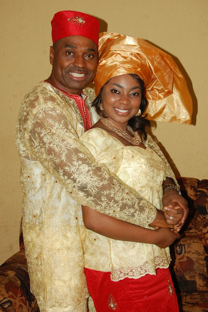 kenneth okonkwo new wife