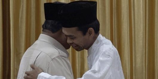 Buntut Bertemu Prabowo, UAS Terancam Dipecat dari ASN