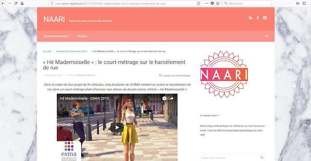http://naari.iscom-digital.com/2017/12/07/he-mademoiselle-court-metrage-harcelement-de-rue/