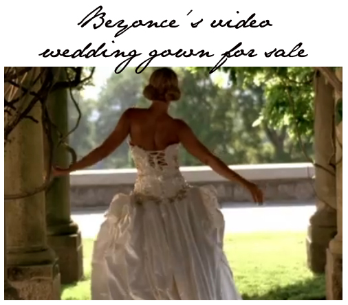 Remember Beyonces Wedding Dress In The Video Best Thing I Never Had Just Case You Dont Weve Pasted Below Anyway Said
