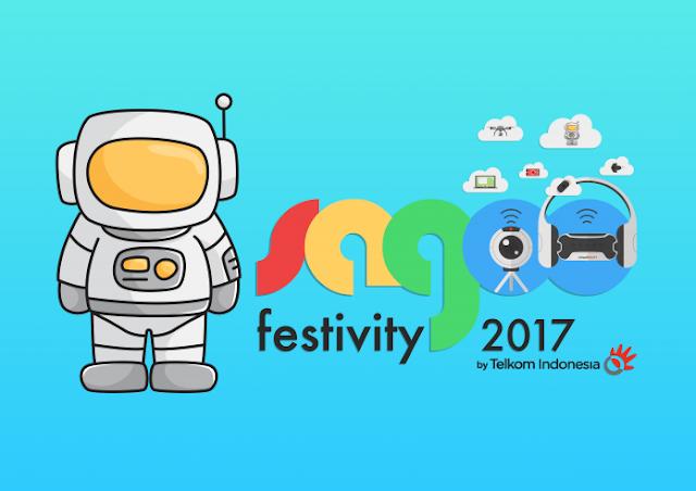 SAGOO FESTIVITY 2017 dimulai besok, Ayo ramaikan kantor Telkom Pettarani