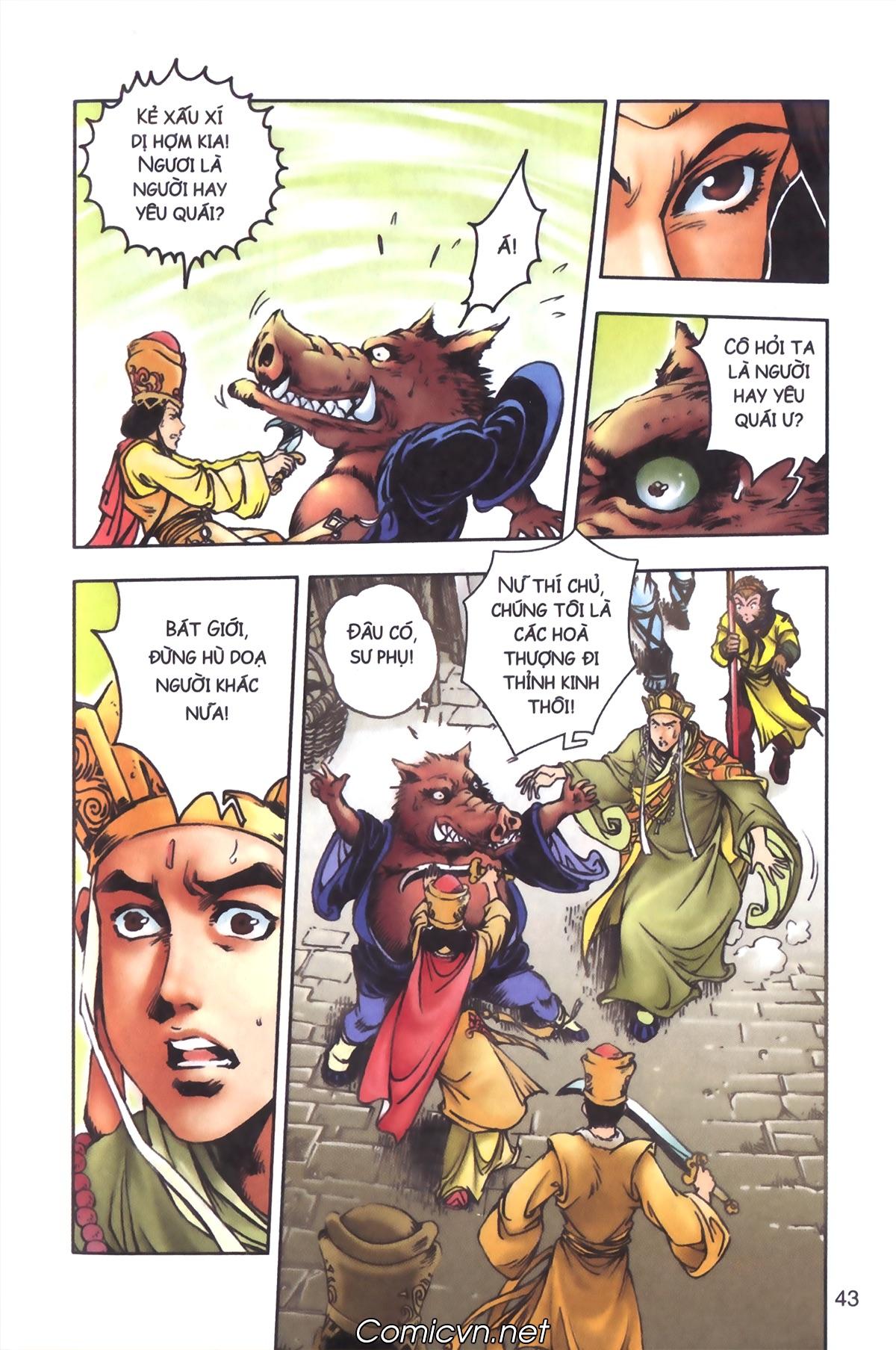 Tây Du Ký màu - Chapter 97 - Pic 13
