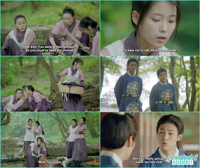 14th prince take 8th prince where hae soo working as the water maid and how the other bully her - Moon Lover Scarlet Heart Ryeo - Episode 12 - Review
