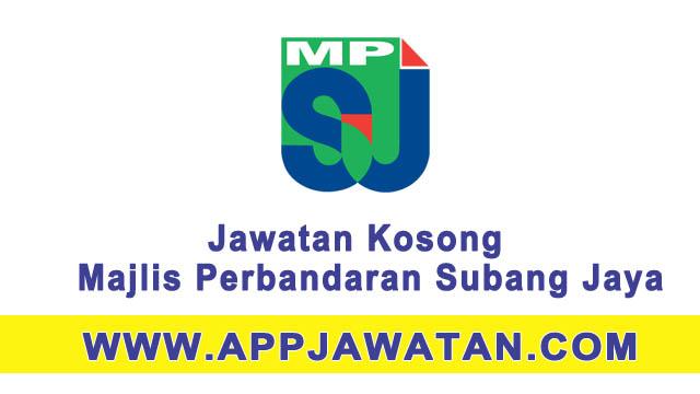 Jawatan kosong di Majlis Perbandaran Subang Jaya - 22 Mac 2017