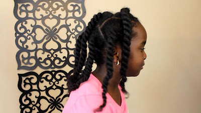 "5 Easy ""1 Minute"" Natural Hair Hairstyles for Kids DiscoveringNatural"