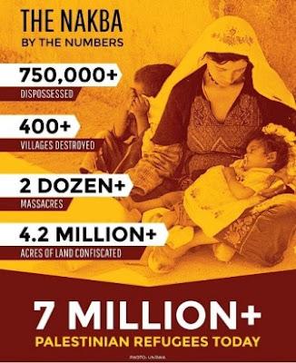 69 anos da catástrofe palestina