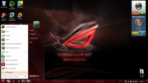tampilan start windows 7 rog