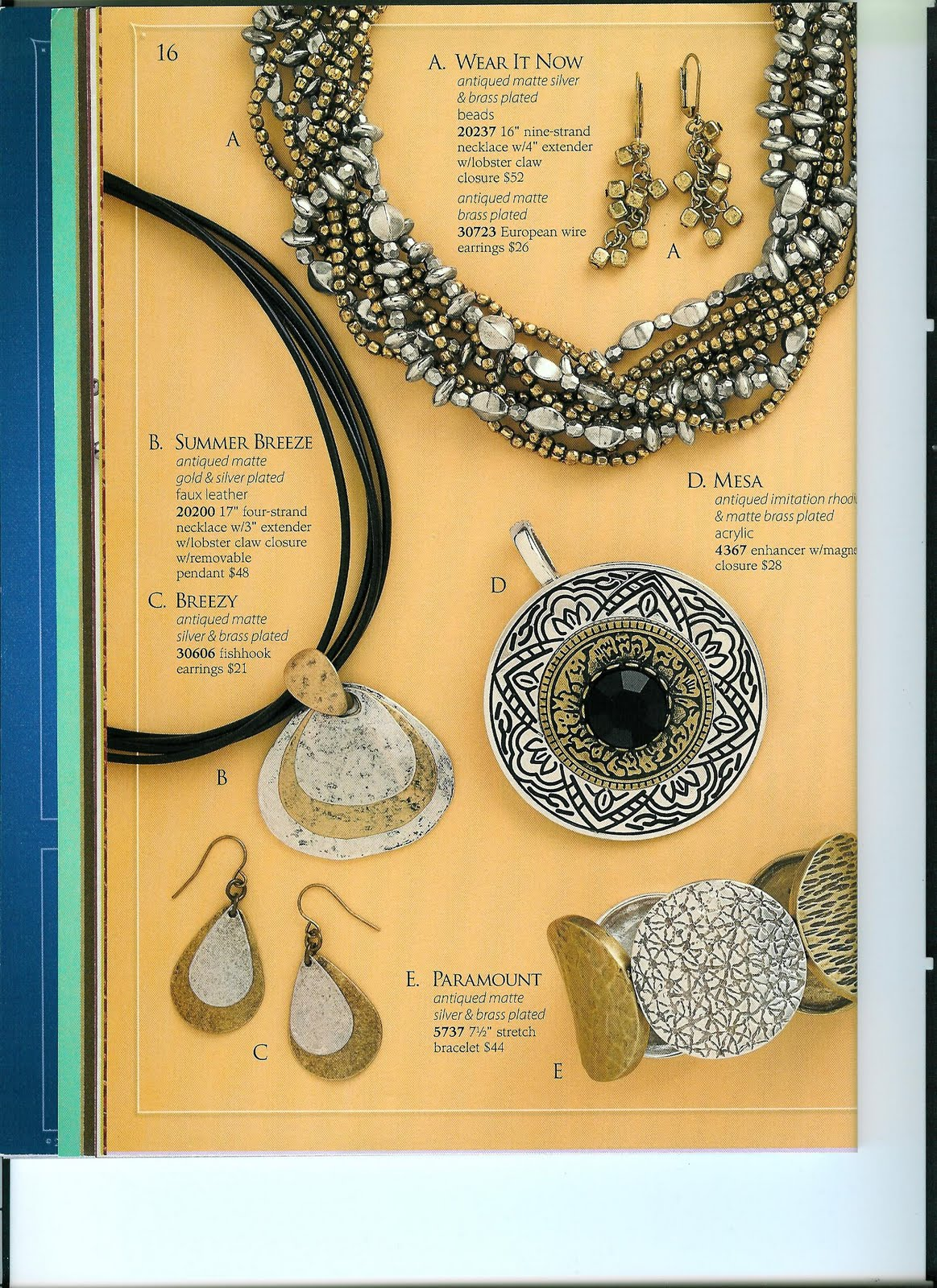 Jewelry Diva: Premier Designs Jewelry: The Catalog Part One