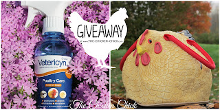 Henbag & Vetericyn Poultry Care Spray Giveaway at www.The-Chicken-Chick.com