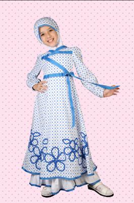 Bunda, Ketahui Model Baju Muslim Anak Perempuan Terbaru Untuk Mendidik Anak Sejak Dini
