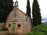 Crkvica sv. Ivan Krstitelj, Škrip, otok Brač slike