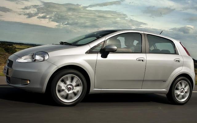 Fiat Punto 2009 a 2012 - recall