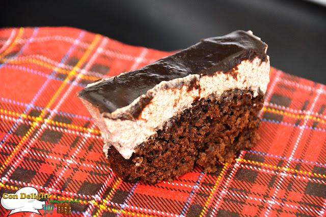עוגת מוס שוקולד chocolate mousse cake