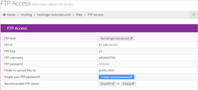 Upload Website Menggunakan FTP Client