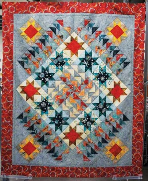 Flight Plan Quilt - Free Pattern