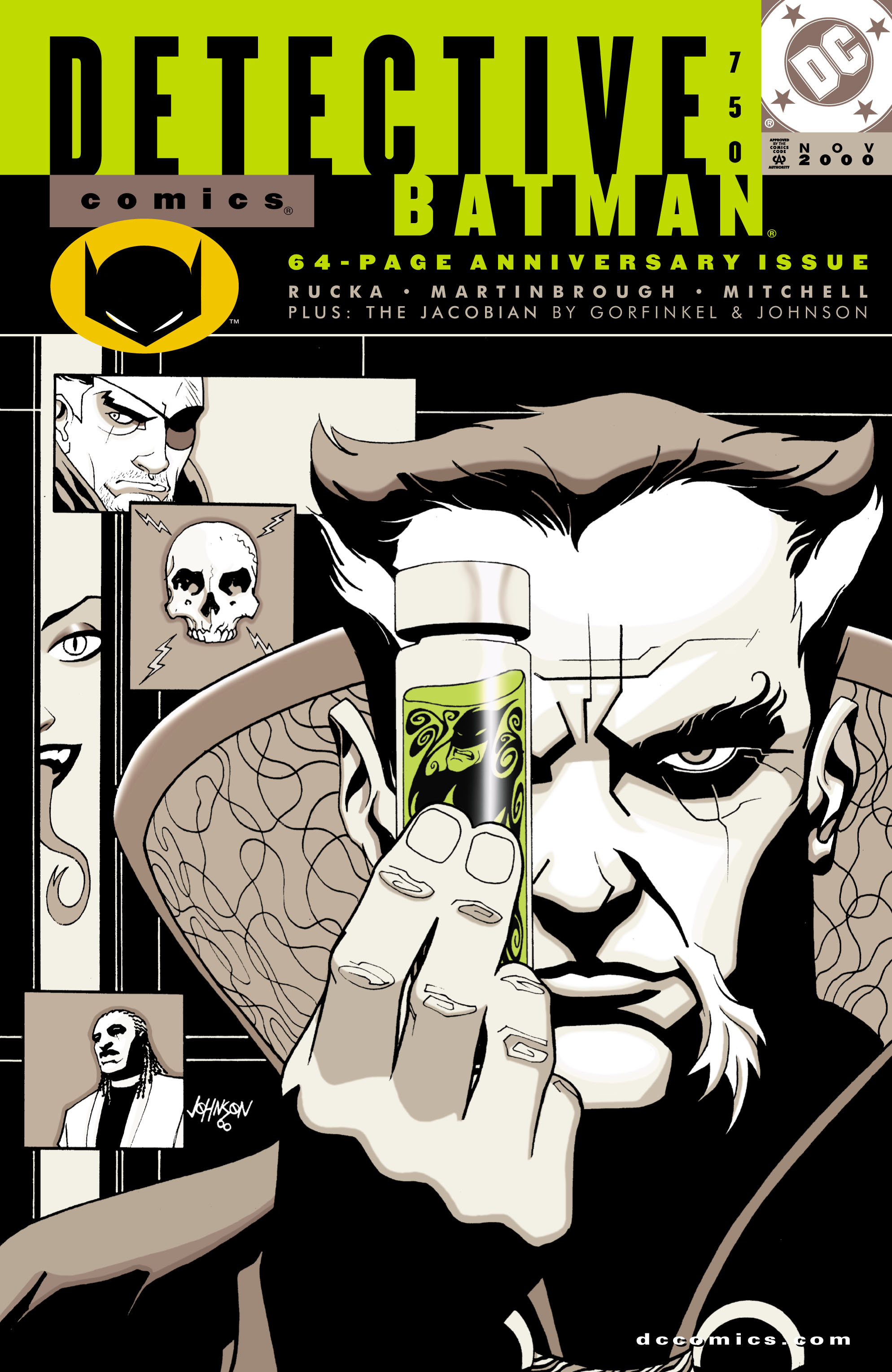 Detective Comics (1937) 750 Page 1