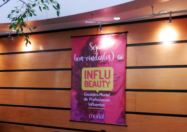 Novidades Muriel no evento InfluBeauty