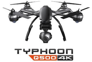 Spesifikasi Yuneec Typhoon Q500 - GudangDrone