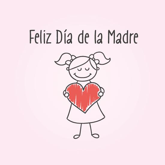 Feliz Día de la Madre - vector