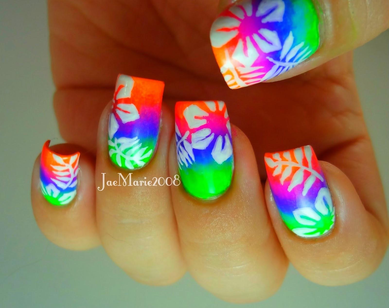 Summer Acrylic nail designs