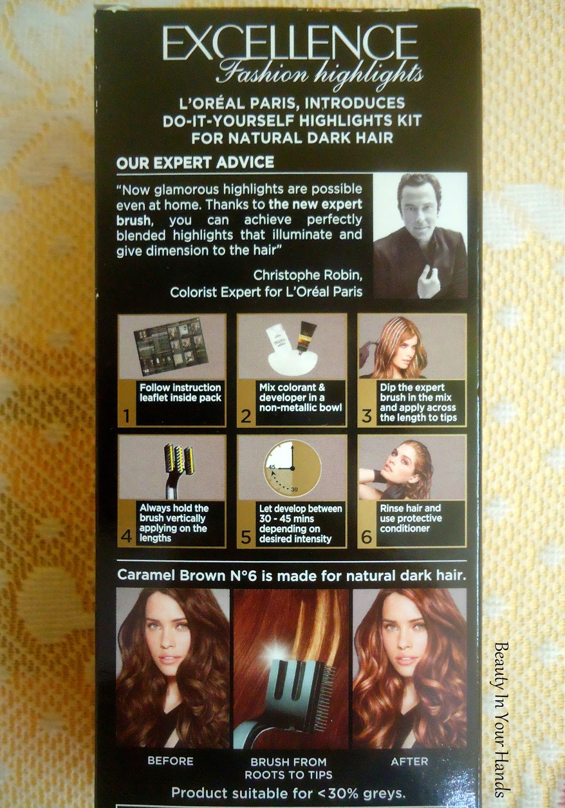 Beauty in your hands loreal paris excellence fashion highlights directions solutioingenieria Gallery
