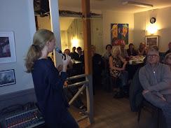 Maja Rosén på 'Klimatprat på Styrsö'