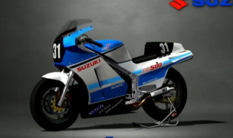 Suzuki RG500 Gamma 1985 Racing Modify