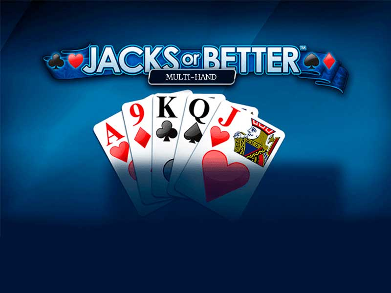 Jucat acum Jacks or Better Multi Hand Slot Online
