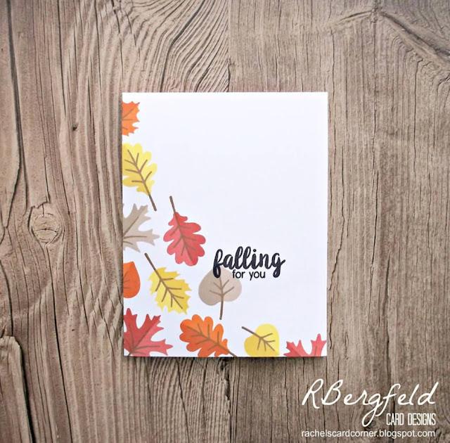 Sunny Studio Stamps: Autumn Splendor customer card by Rachel Bergfeld