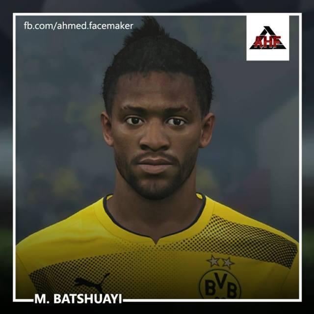 Michy Batshuayi Face PES 2017