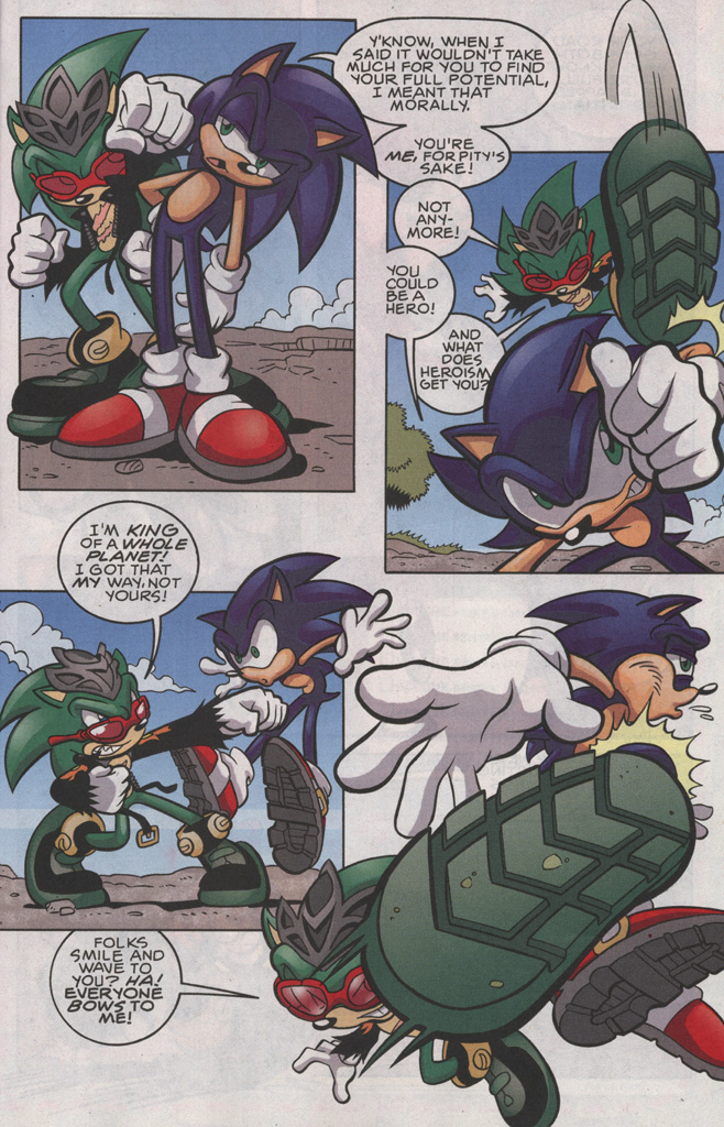 Read online Sonic The Hedgehog comic -  Issue #191 - 13