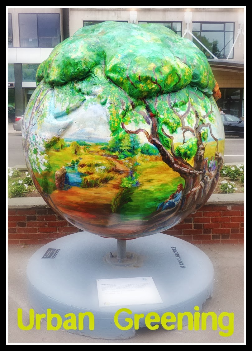 The Cool Globes en Boston: Common I: Urban Greening