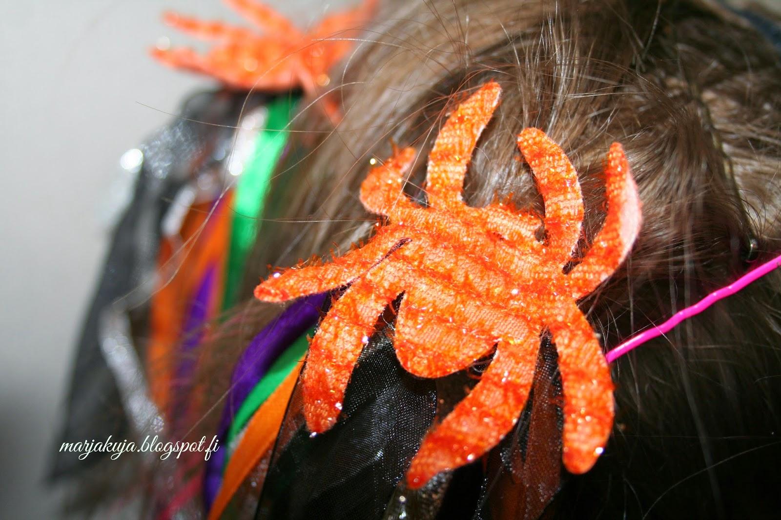 hämähäkki hiuslenkit