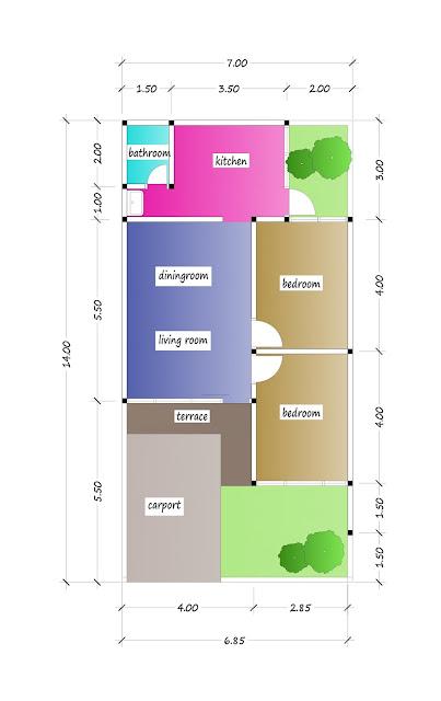 floor plan of beautiful house plan 15