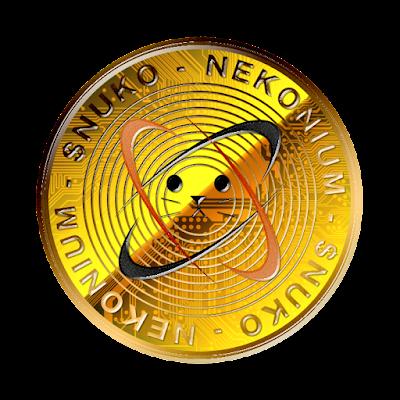 仮想通貨ネコニウムのフリー素材(金貨ver)