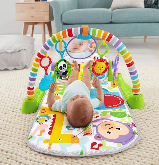 Pierwsza zabawka malucha - na co zwracać szczególną uwagę? Materiał prasowy Fisher-Price