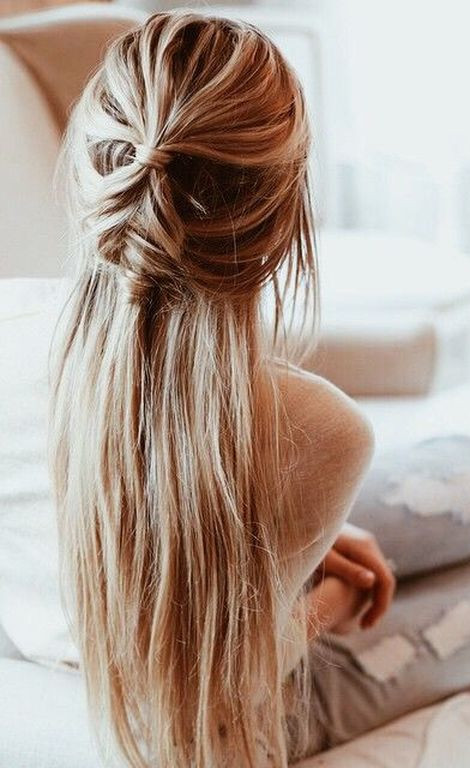 great hairstyle idea for long hair