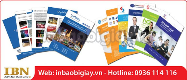 in catalogue chất lượng cao