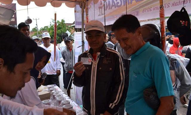 KPU OKI Sosialisasi Hingga ke Pasar Desa
