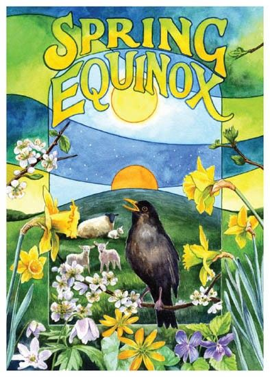 Happy Spring Equinox - Mother's Circle