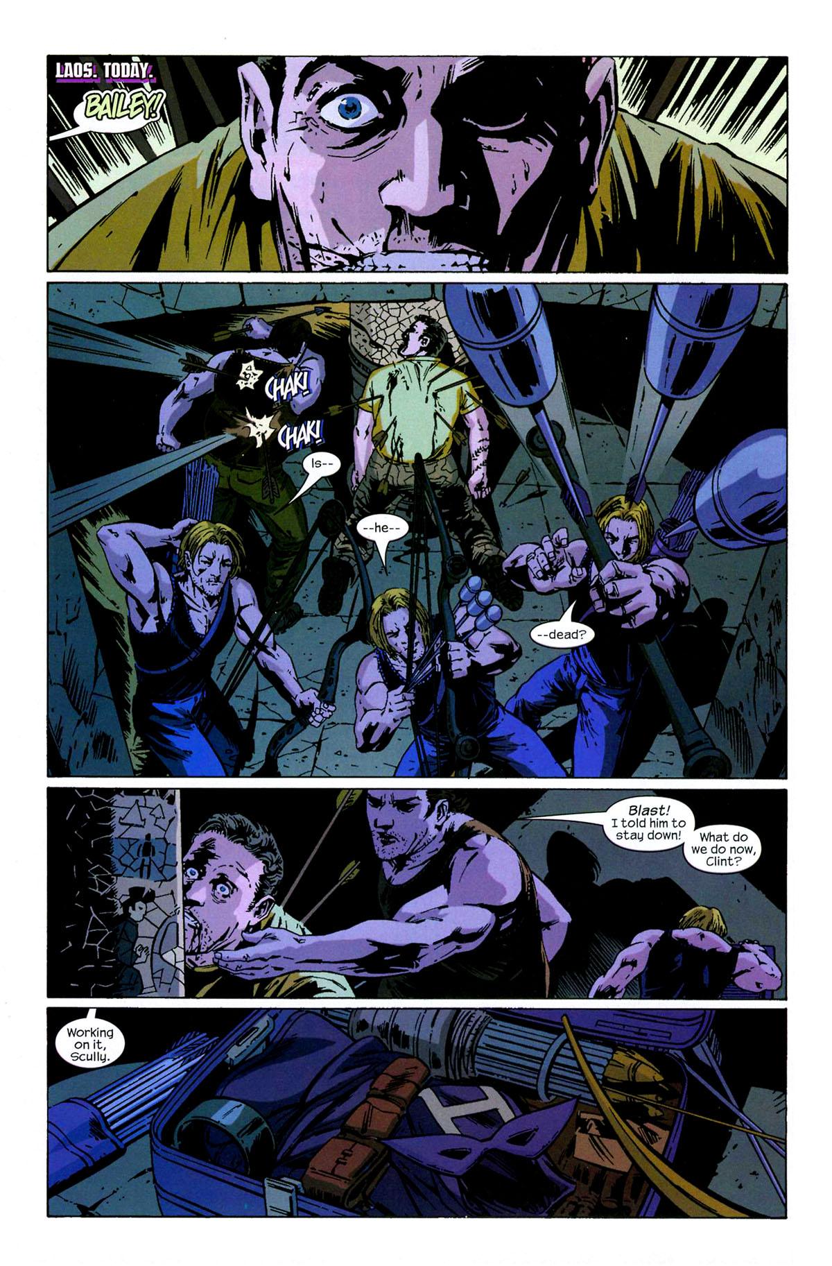 Hawkeye (2003) Issue #6 #6 - English 6