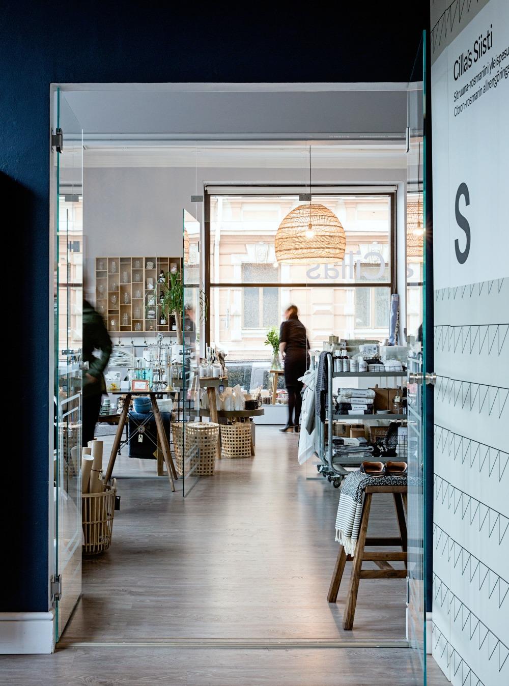 sisustusliike, vaateliike, lifestyleliike, Helsinki