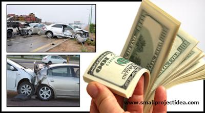 افكار مشاريع صغيرة مربحة جدا وغير مكلفة – سيارات الحوادث وأرباح هائلة